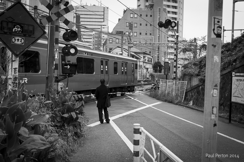 Level crossing, Yoyogi
