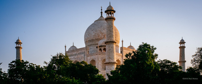 Sunrise Taj Mahal - Agra