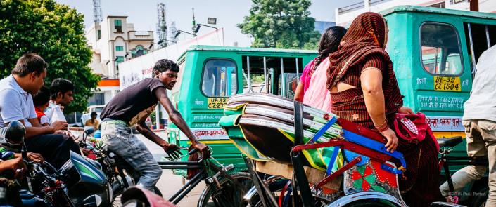 Traffic - Varanasi